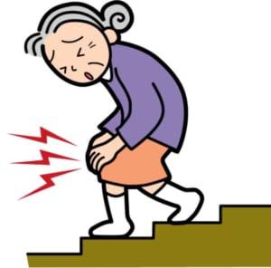 体が冷えると膝が痛くなる❓❓