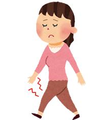 ひざの痛みの原因